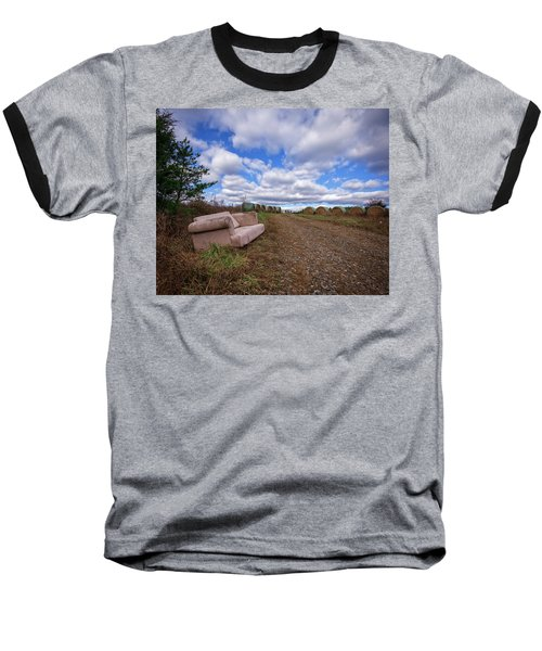 Hay Sofa Sky Baseball T-Shirt