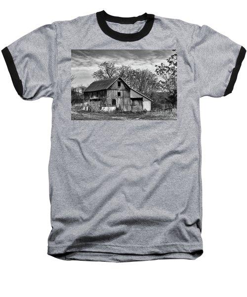 Hay Storage Baseball T-Shirt by Nicki McManus