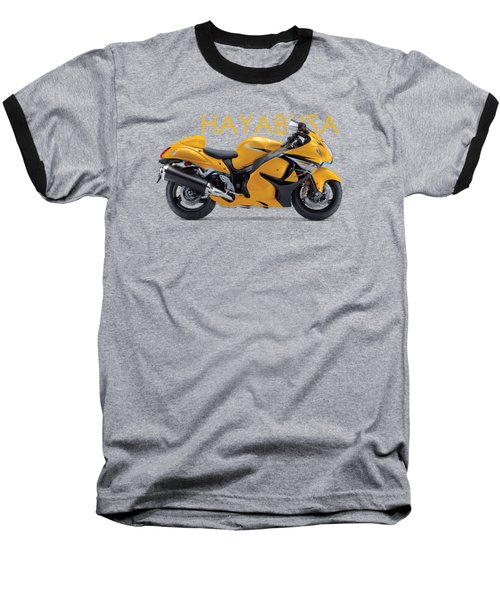 Hayabusa In Yellow Baseball T-Shirt