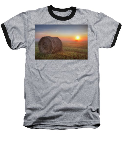 Hayrise Baseball T-Shirt by Dan Jurak
