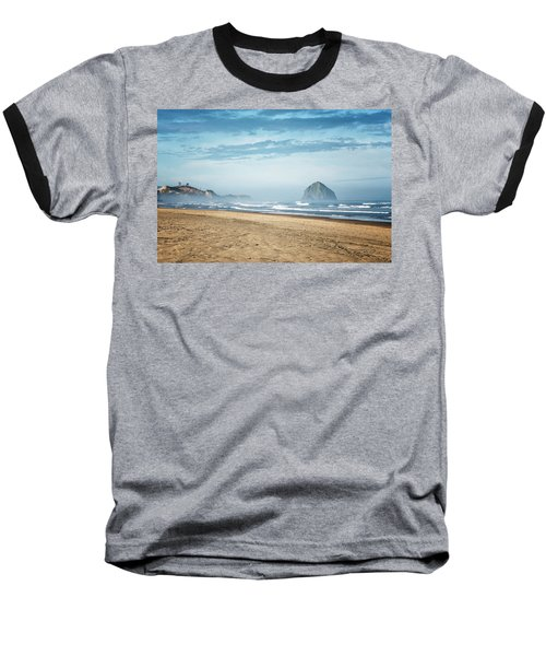 Haystack Rock Pacific City Baseball T-Shirt