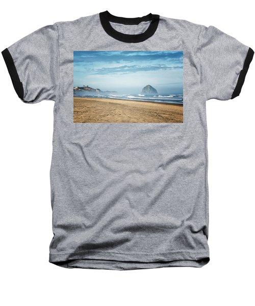 Haystack Rock Pacific City Baseball T-Shirt