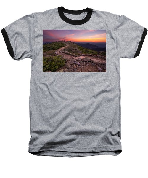 Haystack Sunset Baseball T-Shirt