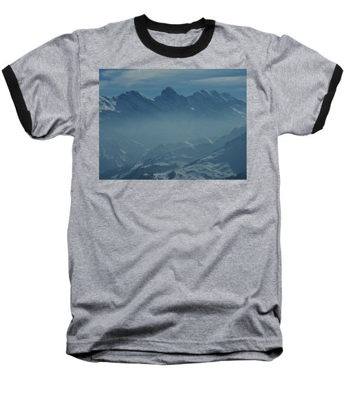 Haze In The Valley Baseball T-Shirt