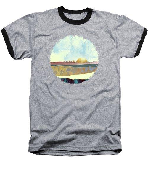 Hazy Afternoon Baseball T-Shirt by Katherine Smit