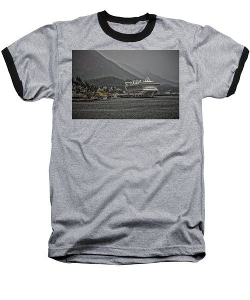 Hazy Day In Paradise  Baseball T-Shirt by Timothy Latta