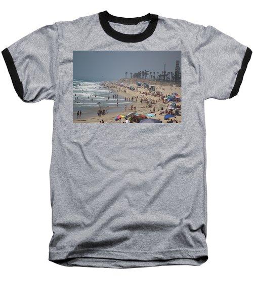 Hazy Lazy Days Of Summer Baseball T-Shirt