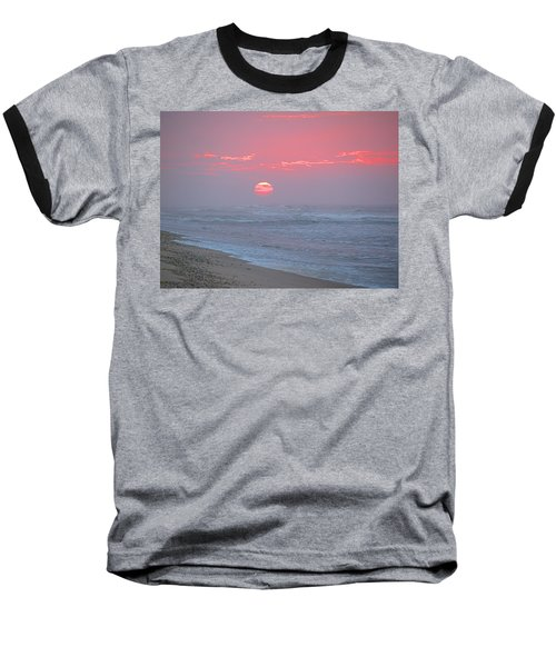 Hazy Sunrise I I Baseball T-Shirt