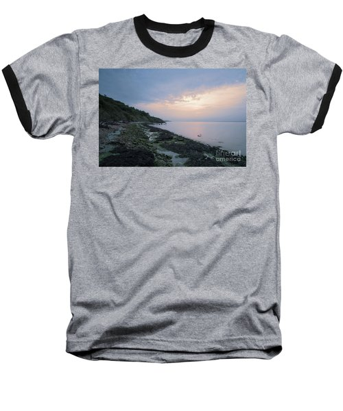 Hazy Sunset Baseball T-Shirt