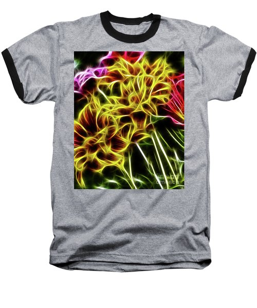 Hdr Light Drawing Baseball T-Shirt