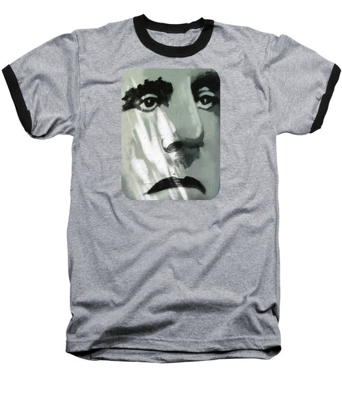 Baseball T-Shirt featuring the photograph He Is Not Amused by Ethna Gillespie