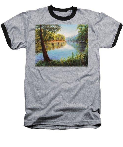 He Leadeth Me Baseball T-Shirt