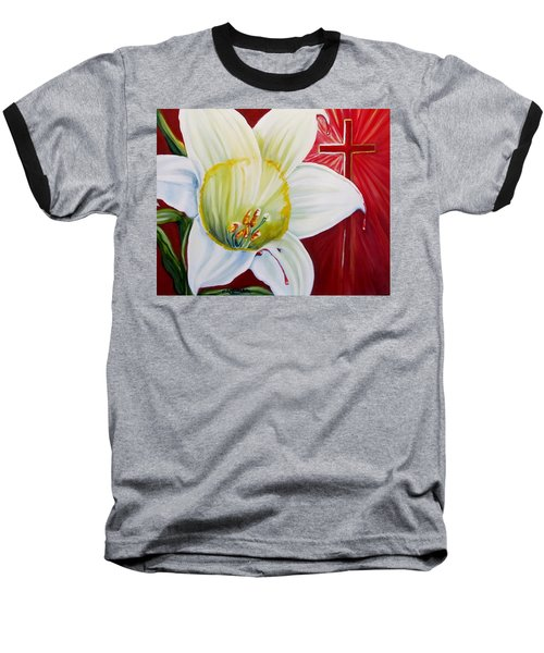 He Lives Baseball T-Shirt