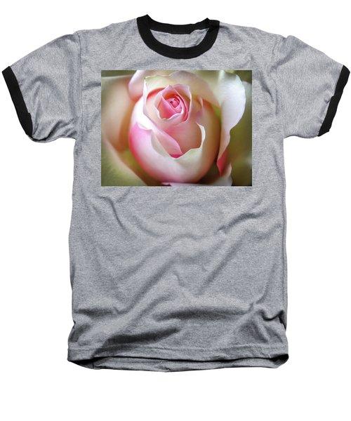 He Loves Me Still Baseball T-Shirt by Karen Wiles
