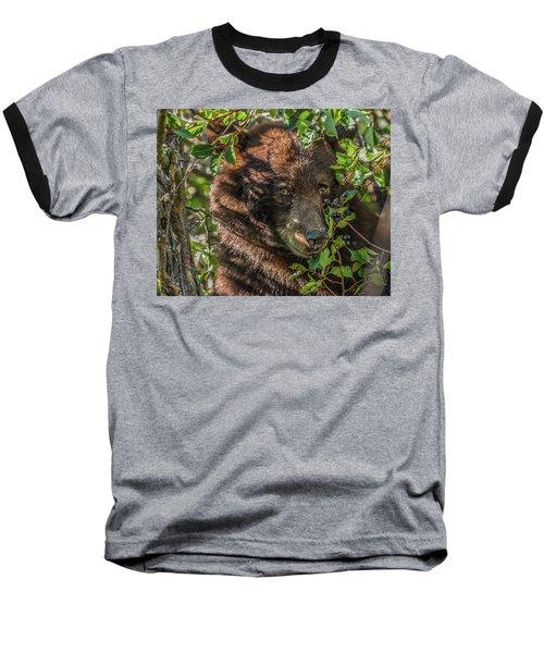 He Was Hiding In A Tree Baseball T-Shirt