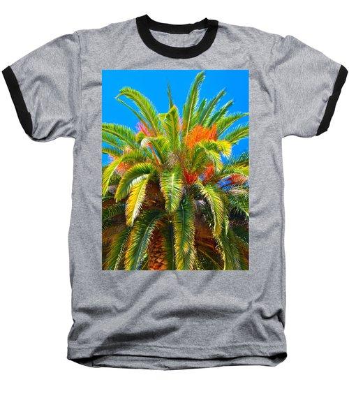 Head Dress Baseball T-Shirt by Josephine Buschman