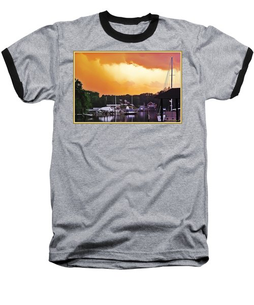 Baseball T-Shirt featuring the photograph Head For Safety by Brian Wallace
