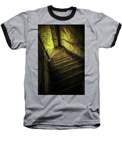 Baseball T-Shirt featuring the photograph Head Full Of Drought by Russell Styles
