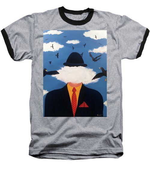 Head In The Cloud Baseball T-Shirt