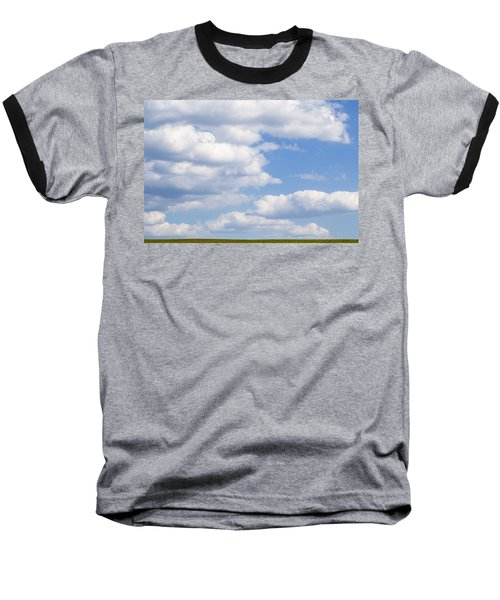 Head In The Clouds Baseball T-Shirt