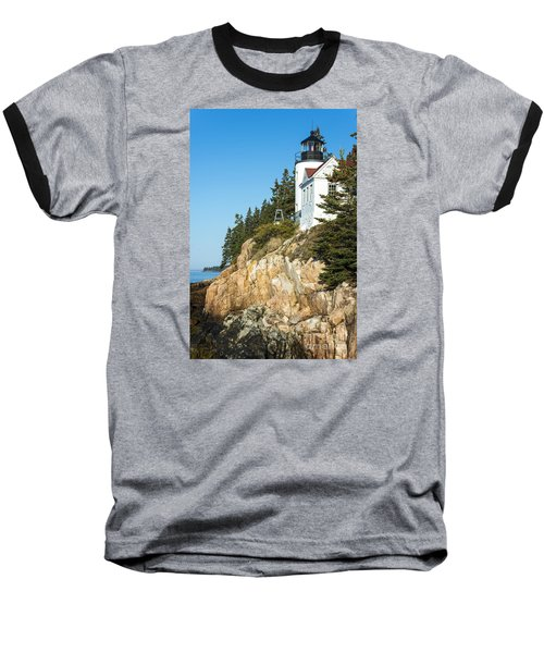 Baseball T-Shirt featuring the photograph Head Lighthouse by Anthony Baatz