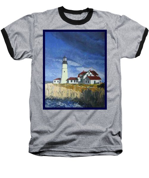 Head Lighthouse  Baseball T-Shirt