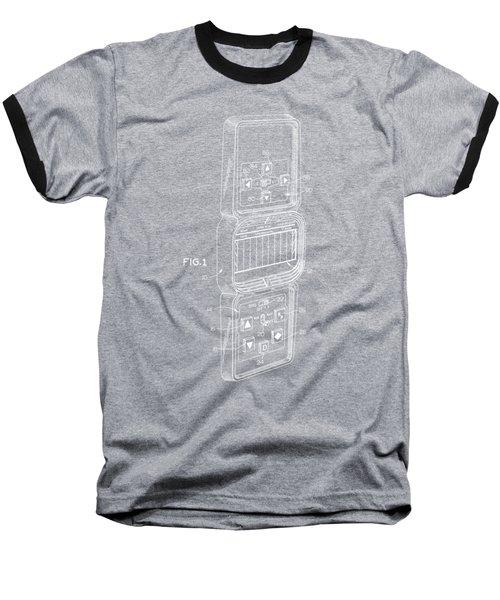 Head To Head Football White T-shirt Baseball T-Shirt by Edward Fielding