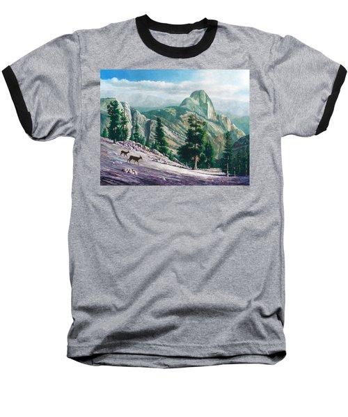 Heading Down Baseball T-Shirt by Douglas Castleman