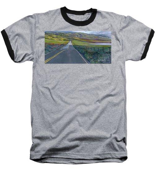 Heading For The Hills Baseball T-Shirt