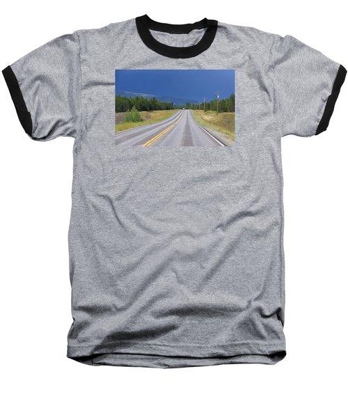 Heading Into The Storm Baseball T-Shirt