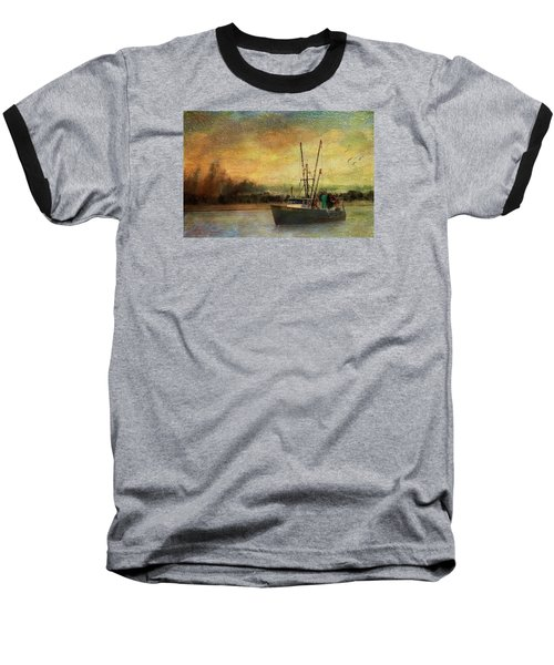 Heading Out Baseball T-Shirt by John Rivera