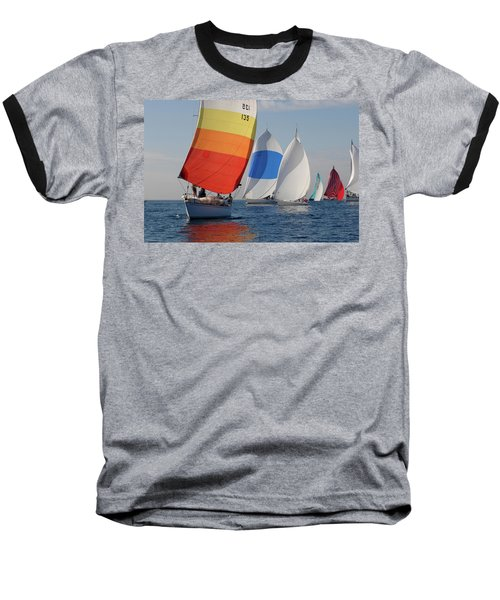 Heading Towind Windward Mark Baseball T-Shirt