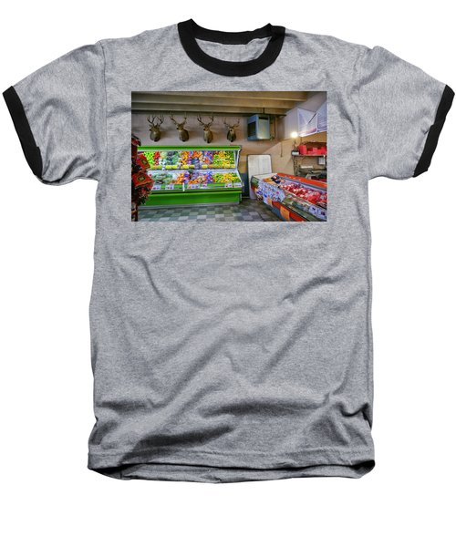 Baseball T-Shirt featuring the photograph Heads Of State by Skip Hunt