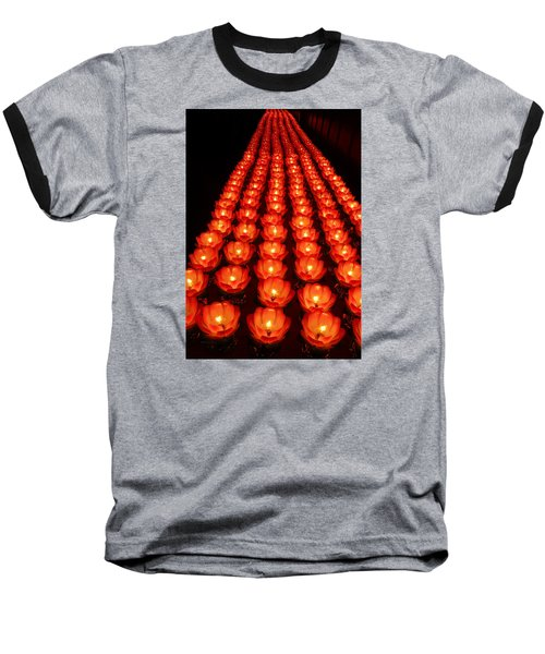 Healing Lights 1 Baseball T-Shirt