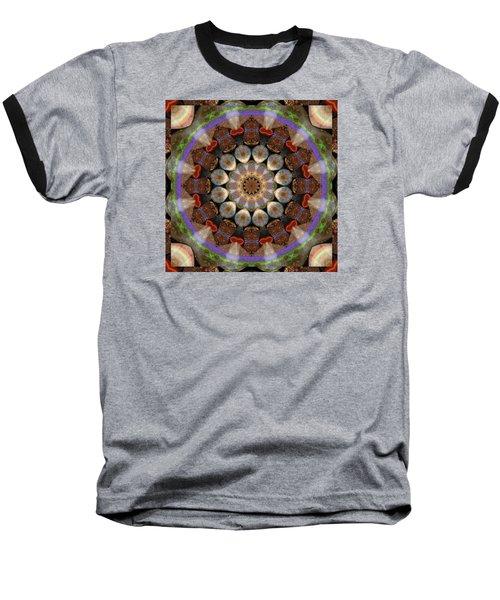 Healing Mandala 30 Baseball T-Shirt