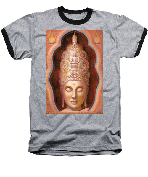 Healing Tara Baseball T-Shirt by Sue Halstenberg
