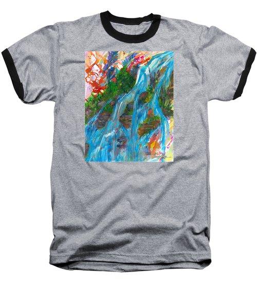 Healing Waters Baseball T-Shirt by Denise Hoag