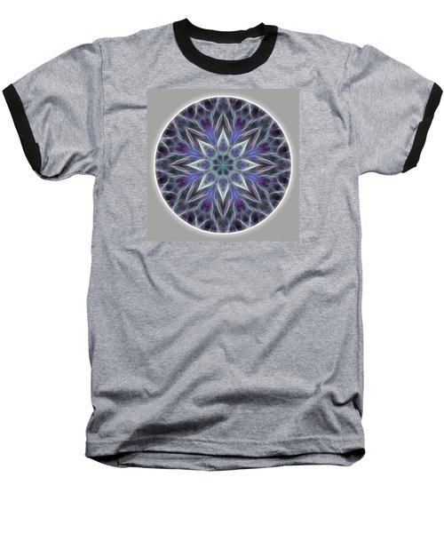 Health And Happiness Mandala Baseball T-Shirt