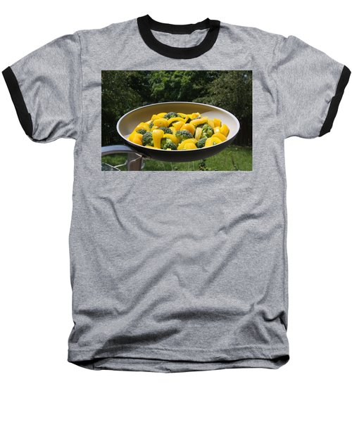 Baseball T-Shirt featuring the photograph Healthy Breakfast by Vadim Levin