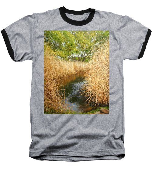 Hear The Croaking Frogs Baseball T-Shirt