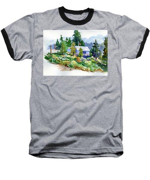 Hearse House Garden Baseball T-Shirt