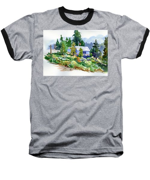 Hearse House Garden Baseball T-Shirt