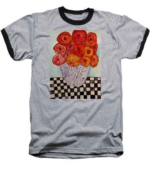 Heart And Matter Baseball T-Shirt by Lisa Aerts