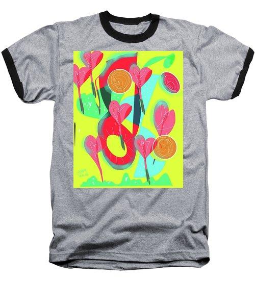 Heart Attack Baseball T-Shirt