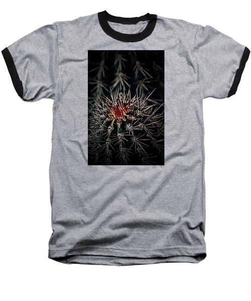 Heart-blood Baseball T-Shirt by Tim Good