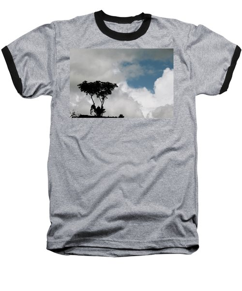 Heart In The Clouds Baseball T-Shirt