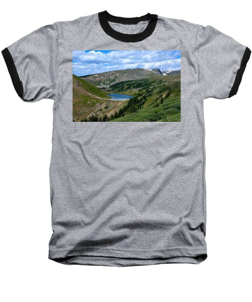 Heart Lake In The Indian Peaks Wilderness Baseball T-Shirt