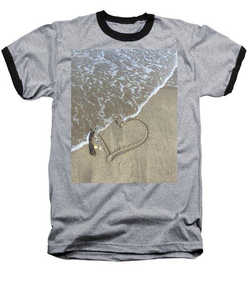 Heart Lost Baseball T-Shirt
