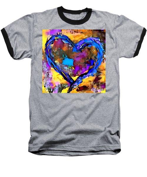 Heart No 7 Baseball T-Shirt