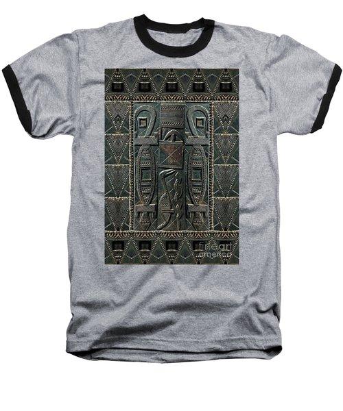 Heart Of Africa Baseball T-Shirt
